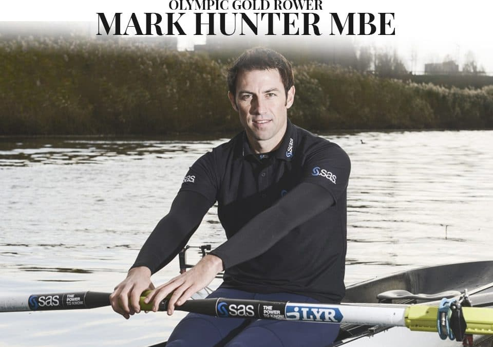 Mark Hunter MBE Rower