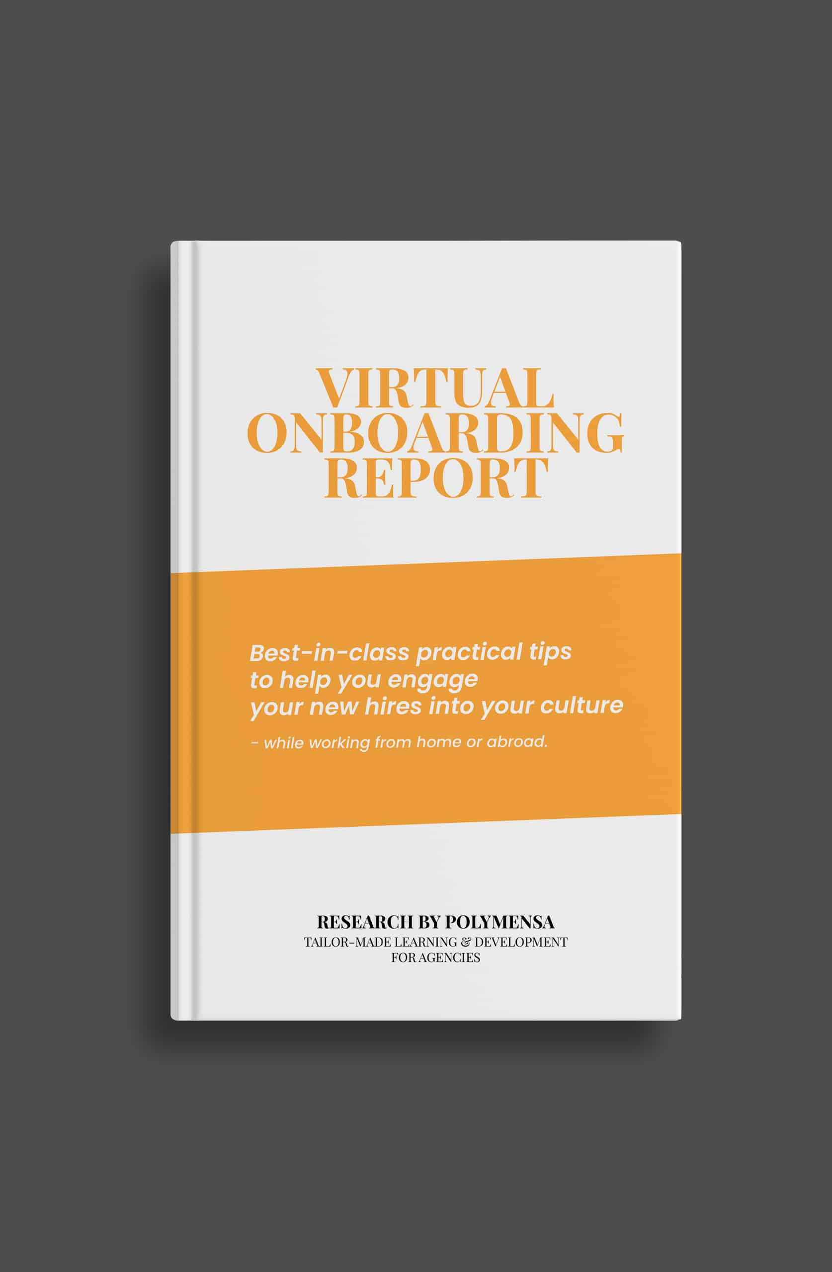 Virtual onboarding report for agencies 2021
