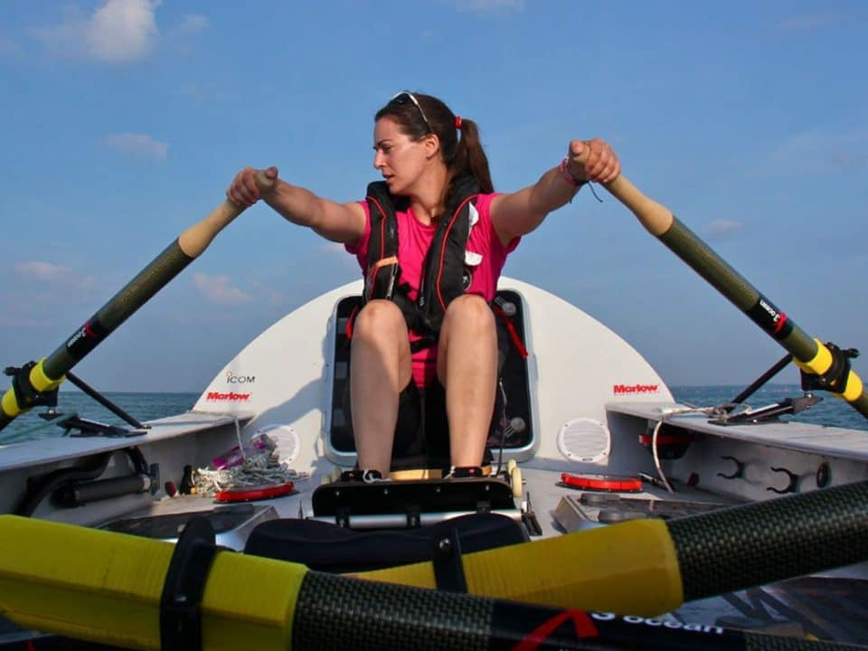 Laura Penhaul Pacific Rower Coxless Crew