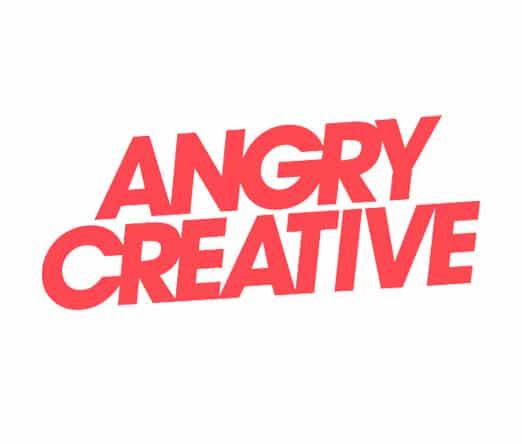 angry creative logo