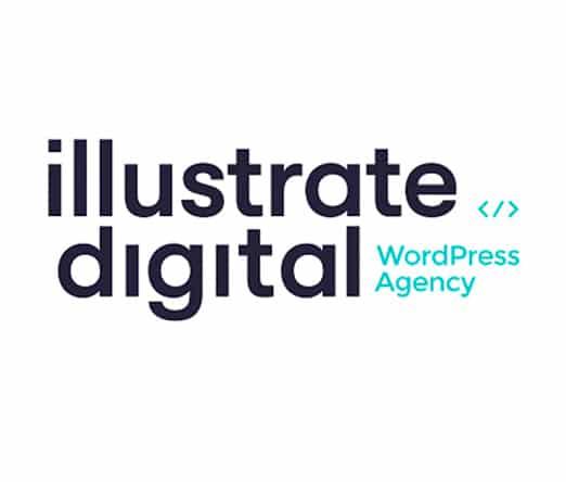 illustrate digital wordpress agency logo