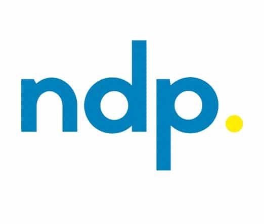 NDP agency logo