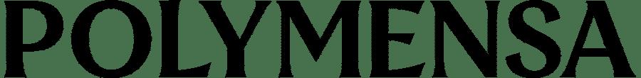 Polymensa Black Logo 2021